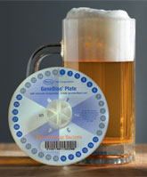 Copy of GeneDisc® Beer Spoilage Bacteria product photo